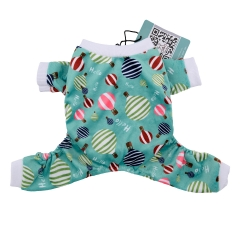 CuteBone Hot Air Balloon Dog Jumpsuit Pet Clothes Onesie Dog Pajamas, Apperal P15