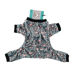 CuteBone Dog Pajamas Puppy Dog Apparel Dog Jumpsuit Pet Clothes Onesie Pajamas P30